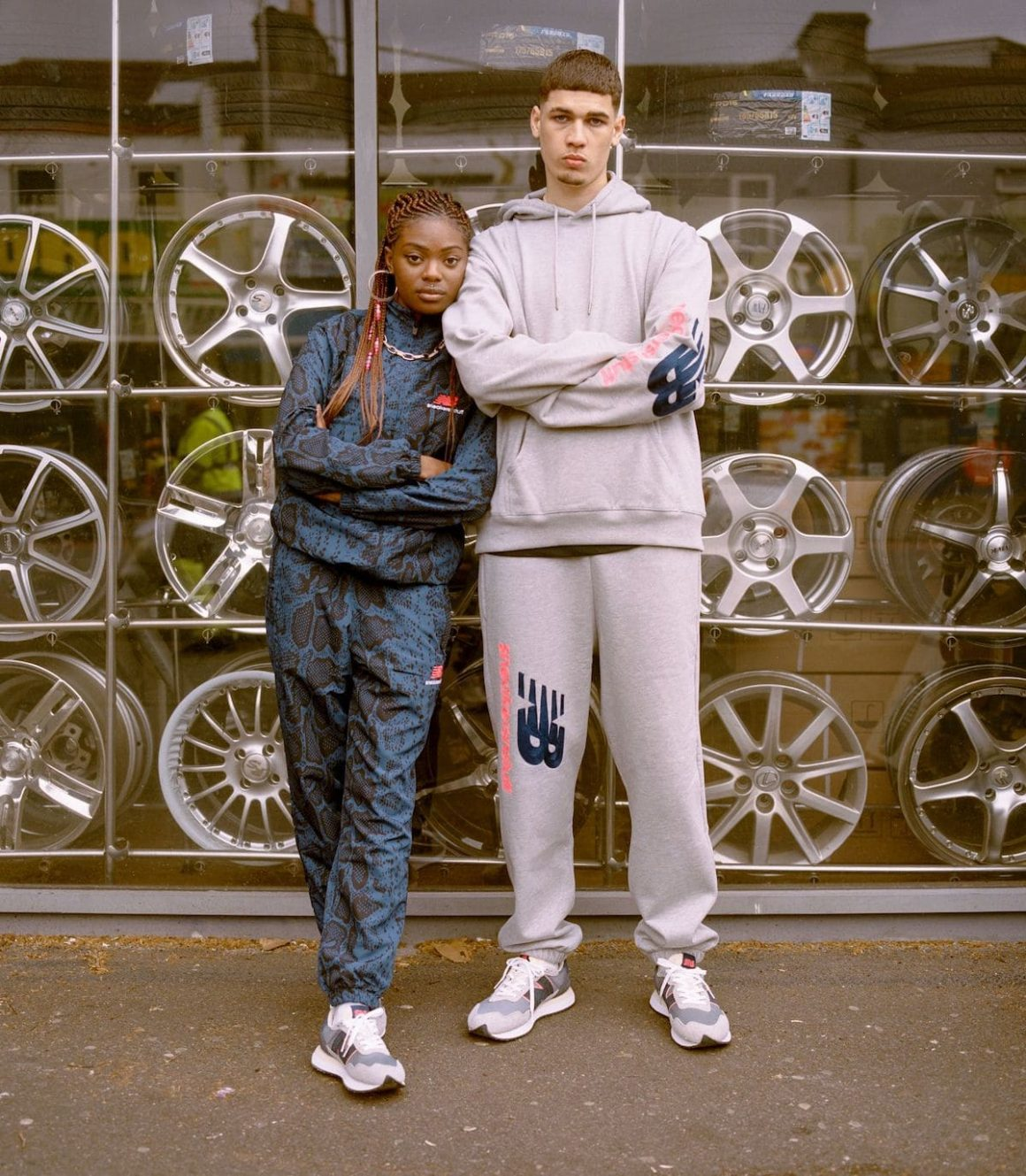 SNS x New balance Blue Racer Capsule Collection Tracksuit