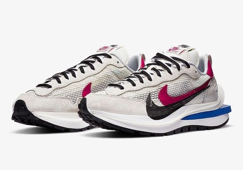 Sacai X Nike VaporWaffle 'Sail' CV1363-100 Release