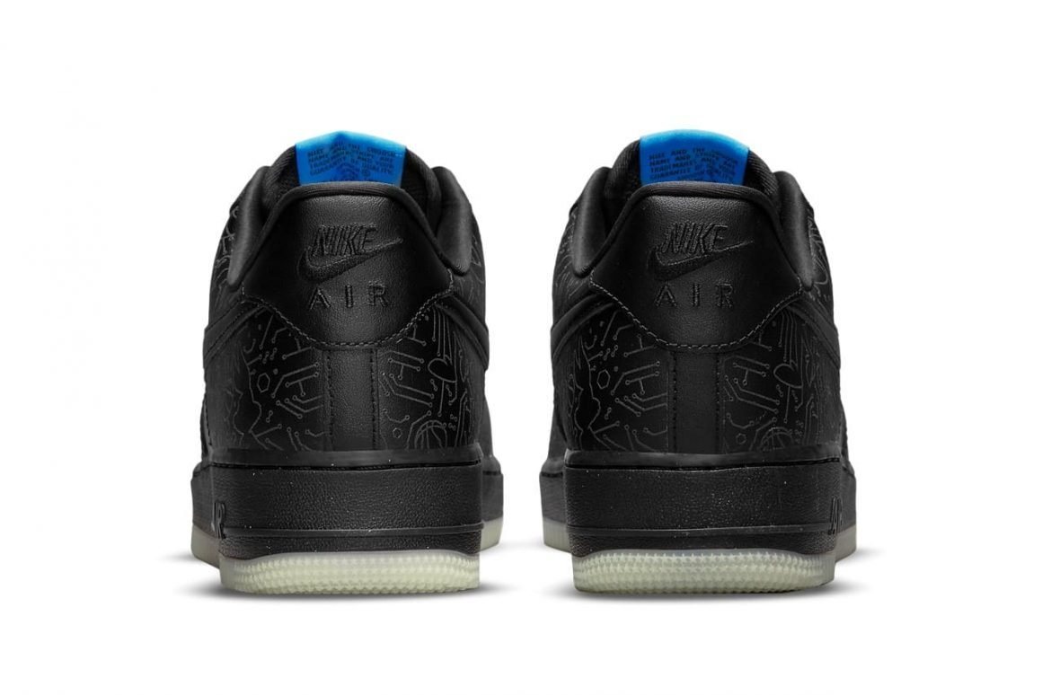 Space Jam x Nike Air Force 1 Low Computer Chip Heel