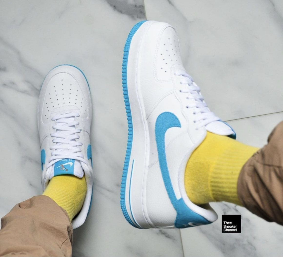 Space Jam x Nike Air Force 1 Low Hare On Feet Topview