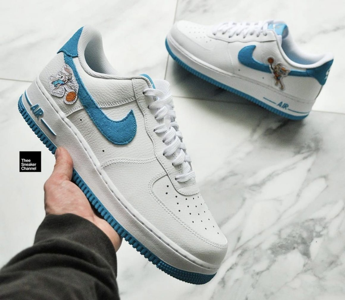 Space Jam x Nike Air Force 1 Low Hare in Hands