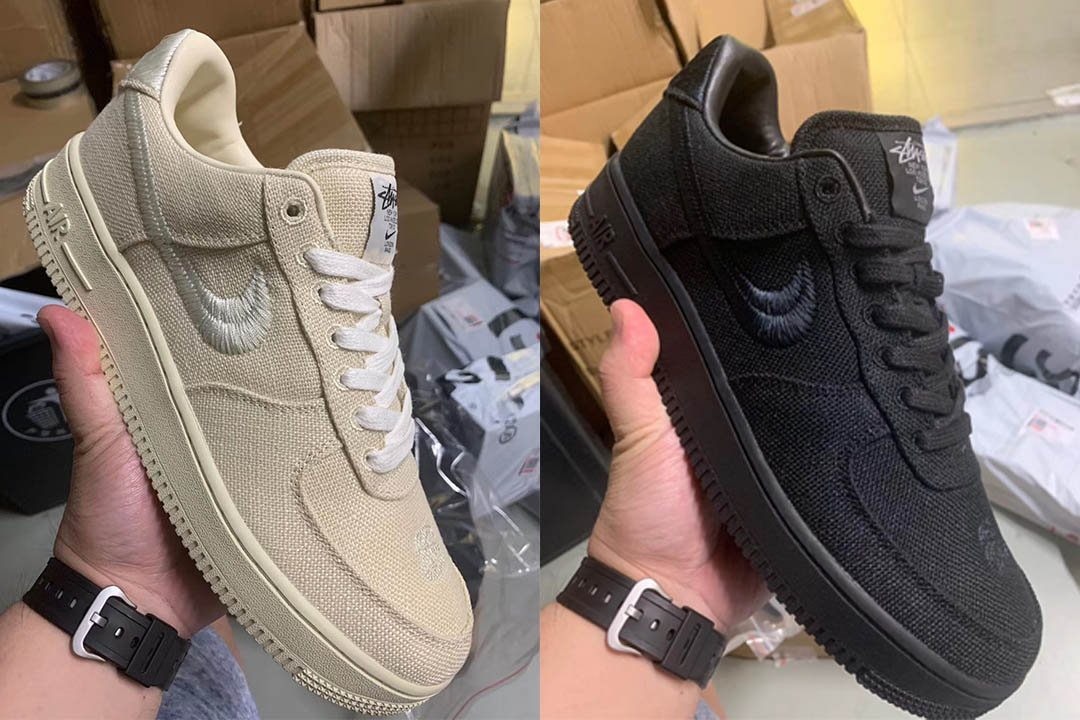 Stussy-x-Nike-Air-Force-1-Low-Fossil-Titelbild-Release-2020
