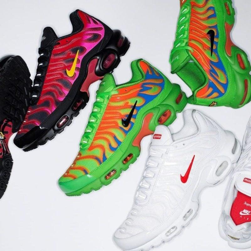Supreme x Nike Air Max Plus TN Release 2020