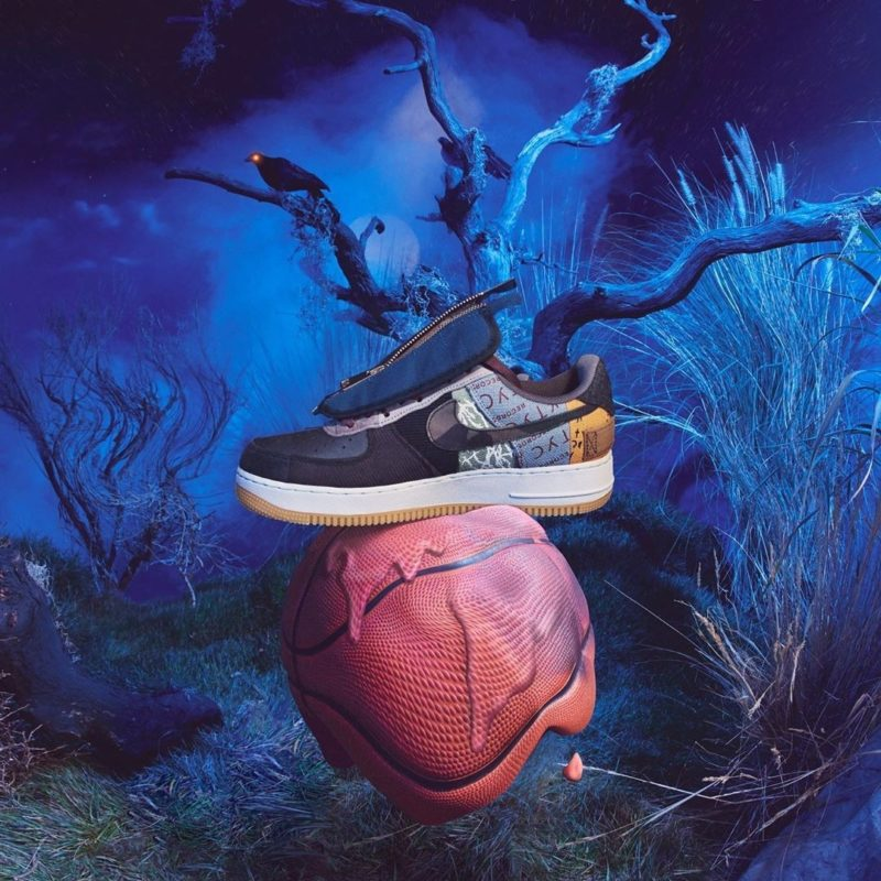 Travis Scott x Nike Air Force 1 Titelbild