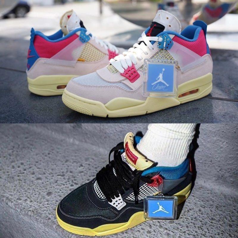 Union LA x Air Jordan 4 Release
