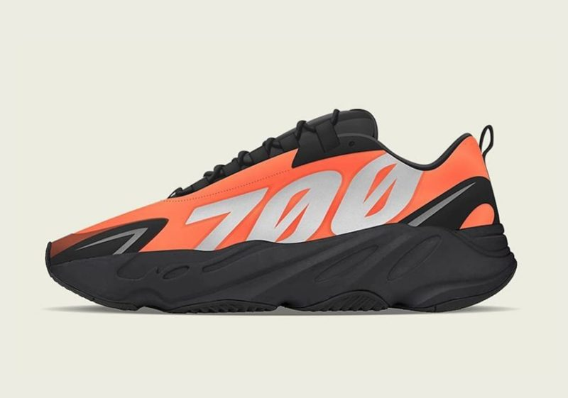 Yeezy 700 MNVN Orange