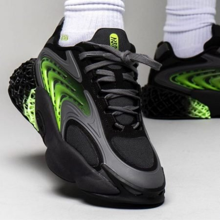 adidas 4D Cush Carbon Solar Green Titel