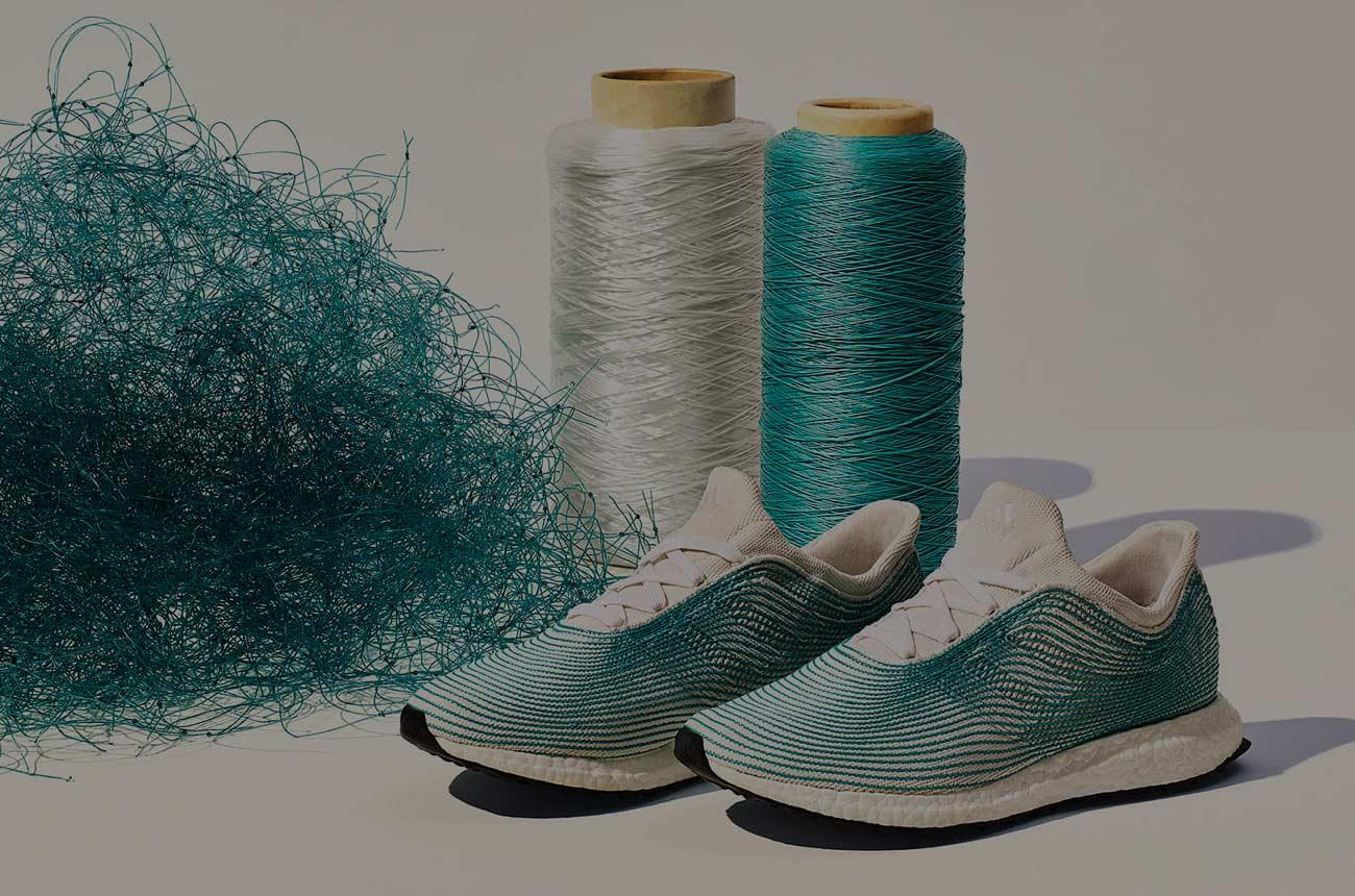 adidas parley for the ocean nachhaltige Produktion von Schuhen
