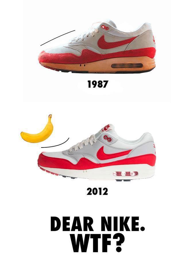 Unterschied Shape Nike Air Max 1
