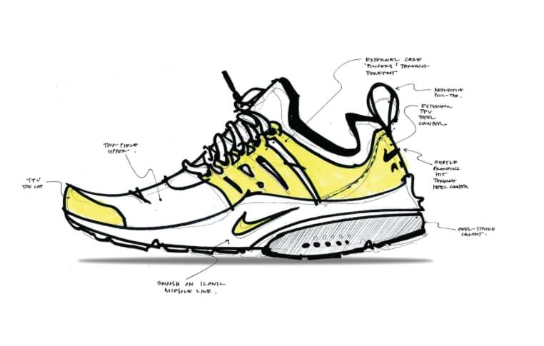 Nike Air Presto Skizze