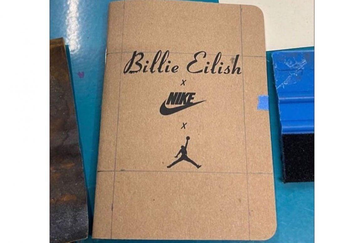 Billie Eilish x Air Jordan 1 KO Notebook