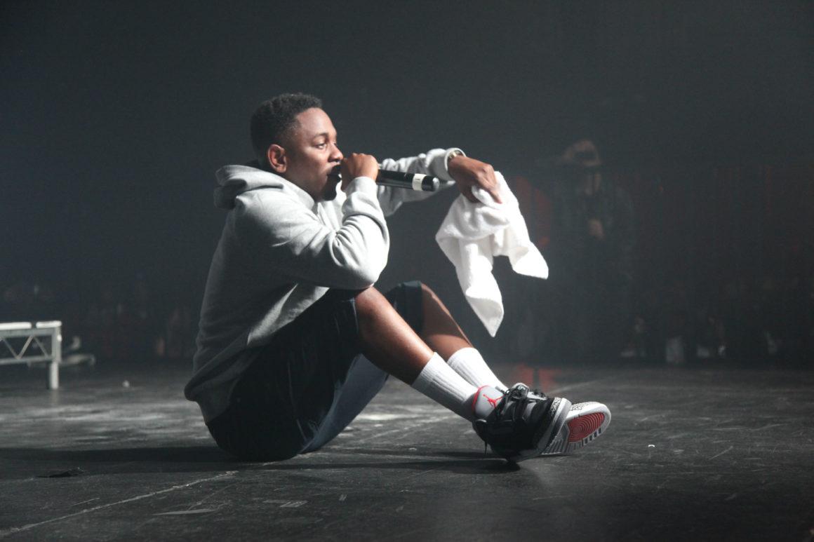 Kendrick Lamar in Air Jordans