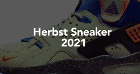 Herbst Sneaker 2021