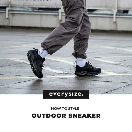 How to Style Outdoor Sneaker