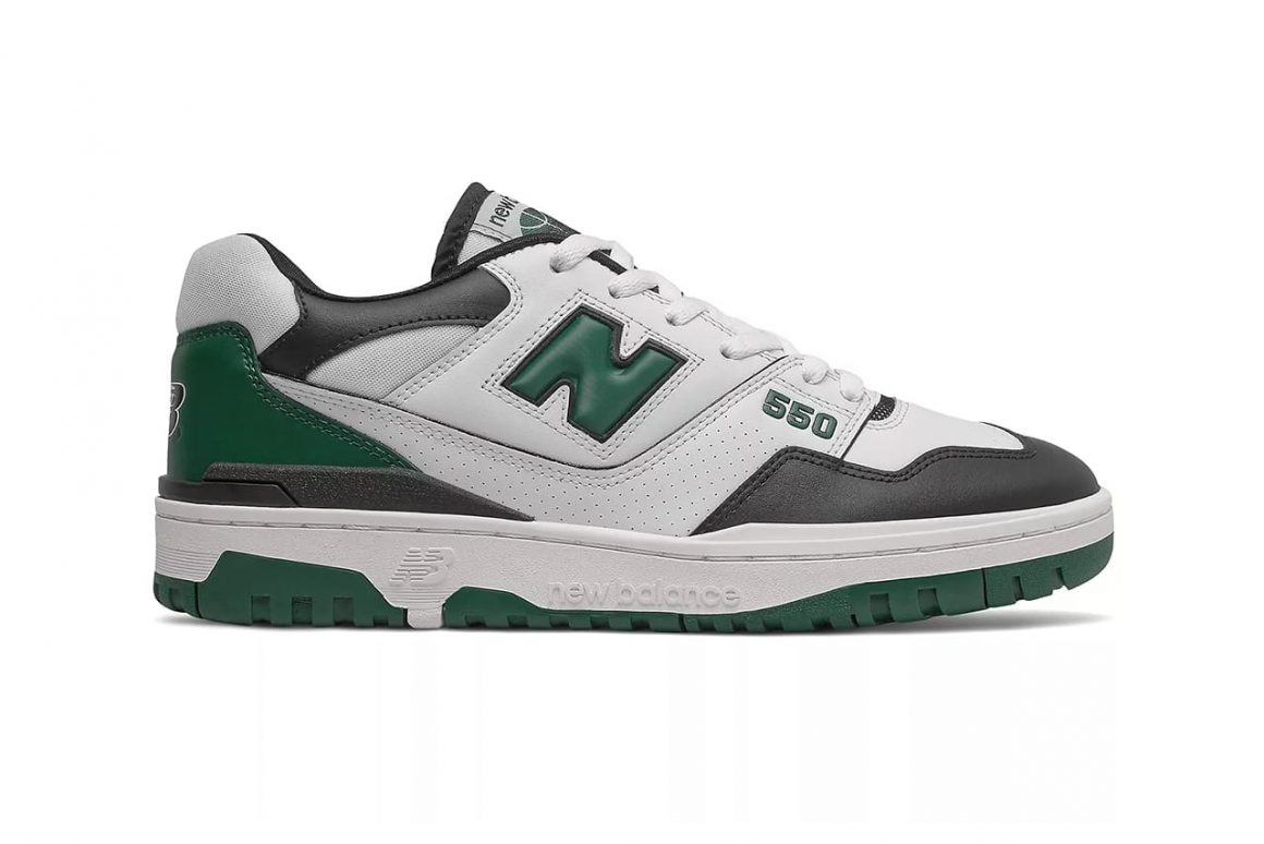 New Balance 550 Green BB550LE1 Lateral