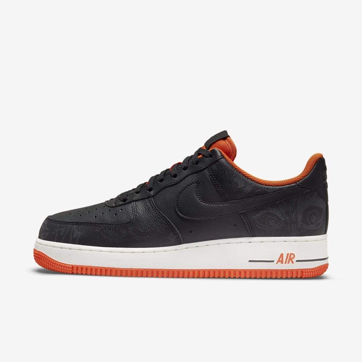 Nike Air Force 1 Halloween DC8891-001 Lateral