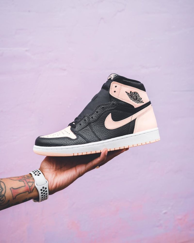 "Air Jordan 1 Retro High ""Crimson Tint"" Release-Infos ..."