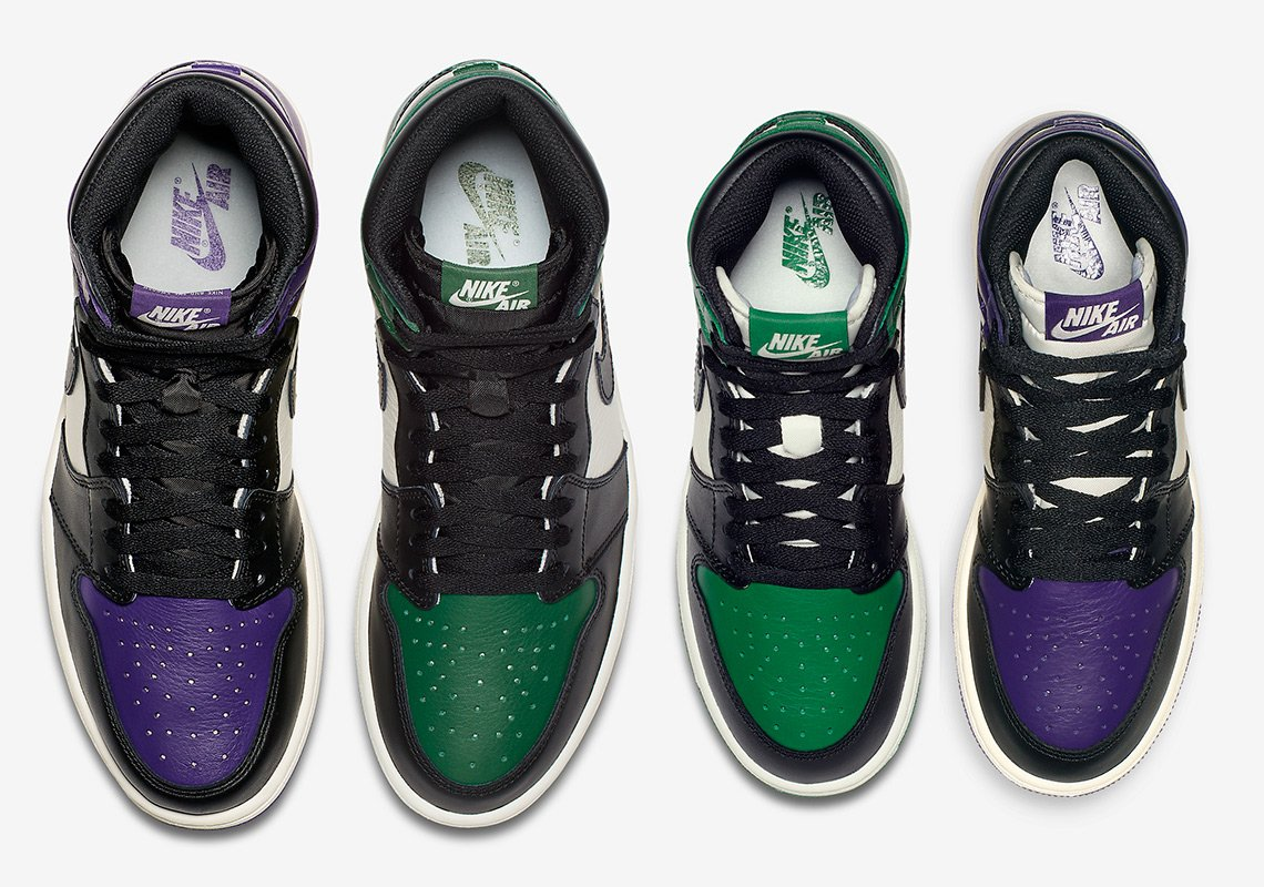 nike air jordan 1 pine green court purple sneakernews_01