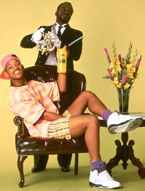 nike air jordan 5 fresh prince will smith sneakerfiles