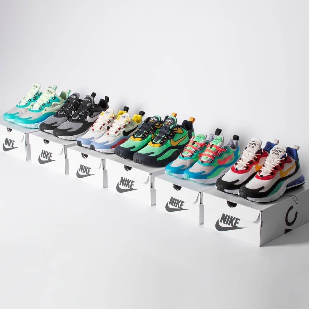air max 270 react all colorways