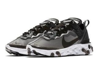 Nike React Element 87 Black 1