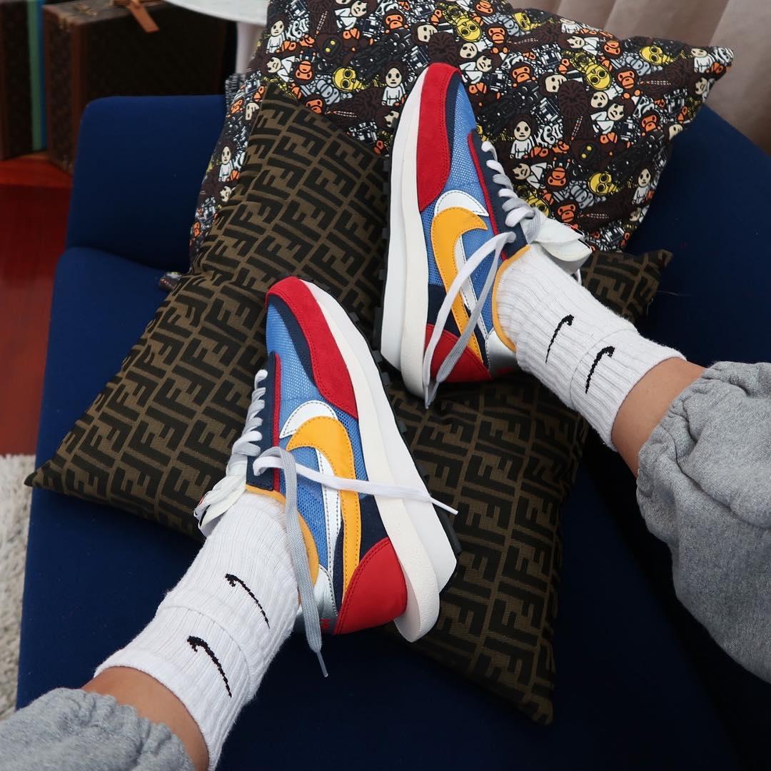 half off 0fa55 66f98 Nike x sacai Blazer   LDV Waffle Daybreak – Release 2019