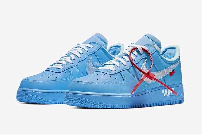"Off-White x Nike Air Force 1 ""MCA"" Release-Infos 