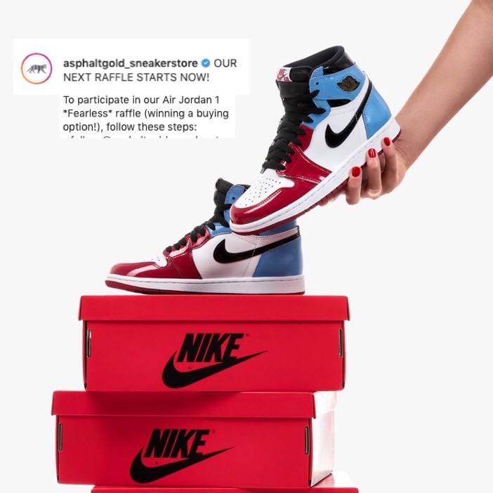 sneaker-raffle