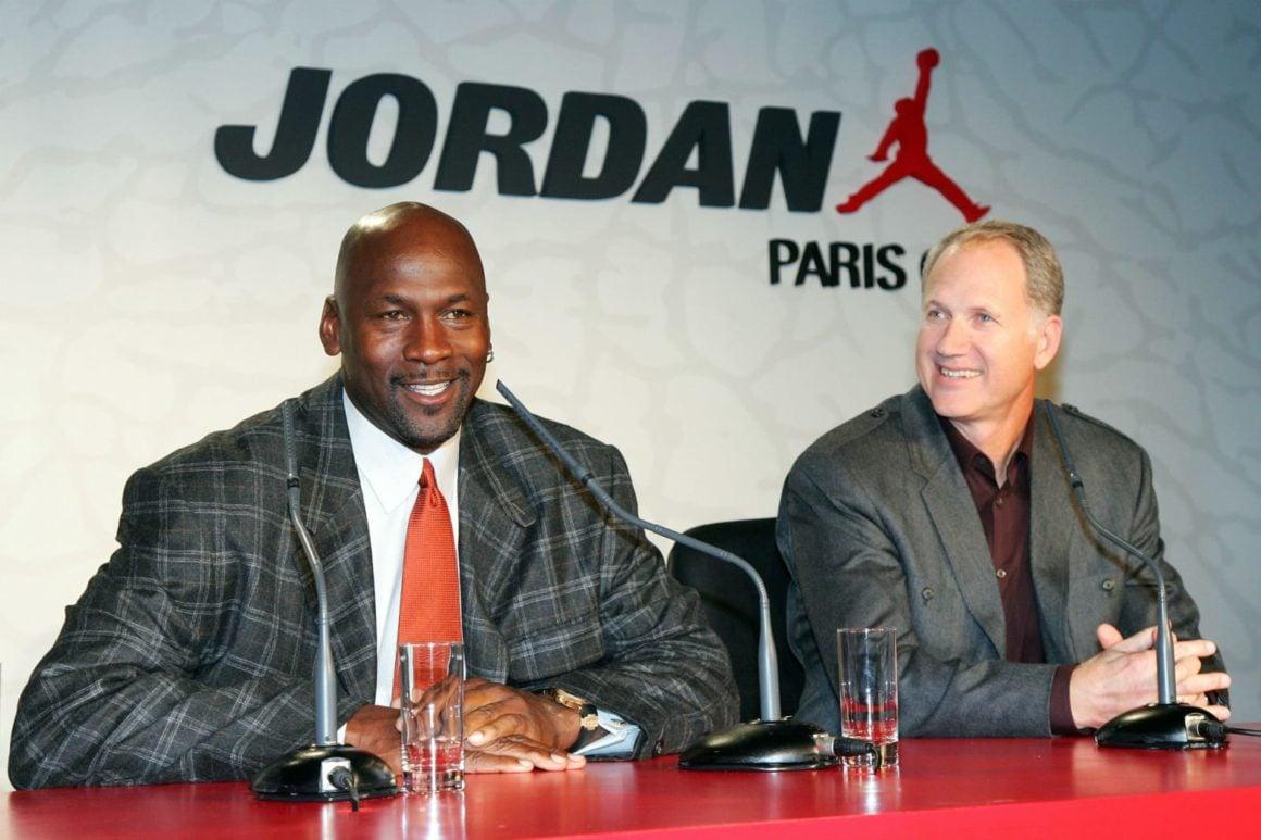 Tinker Hatfield und Michael Jordan