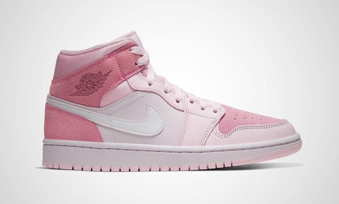 wmns air jordan 1 mid digital pink cw5379-600